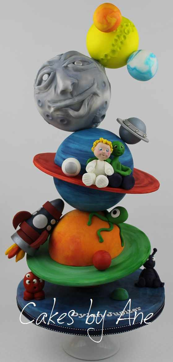 Planet Cake Images : Cakes by Ane