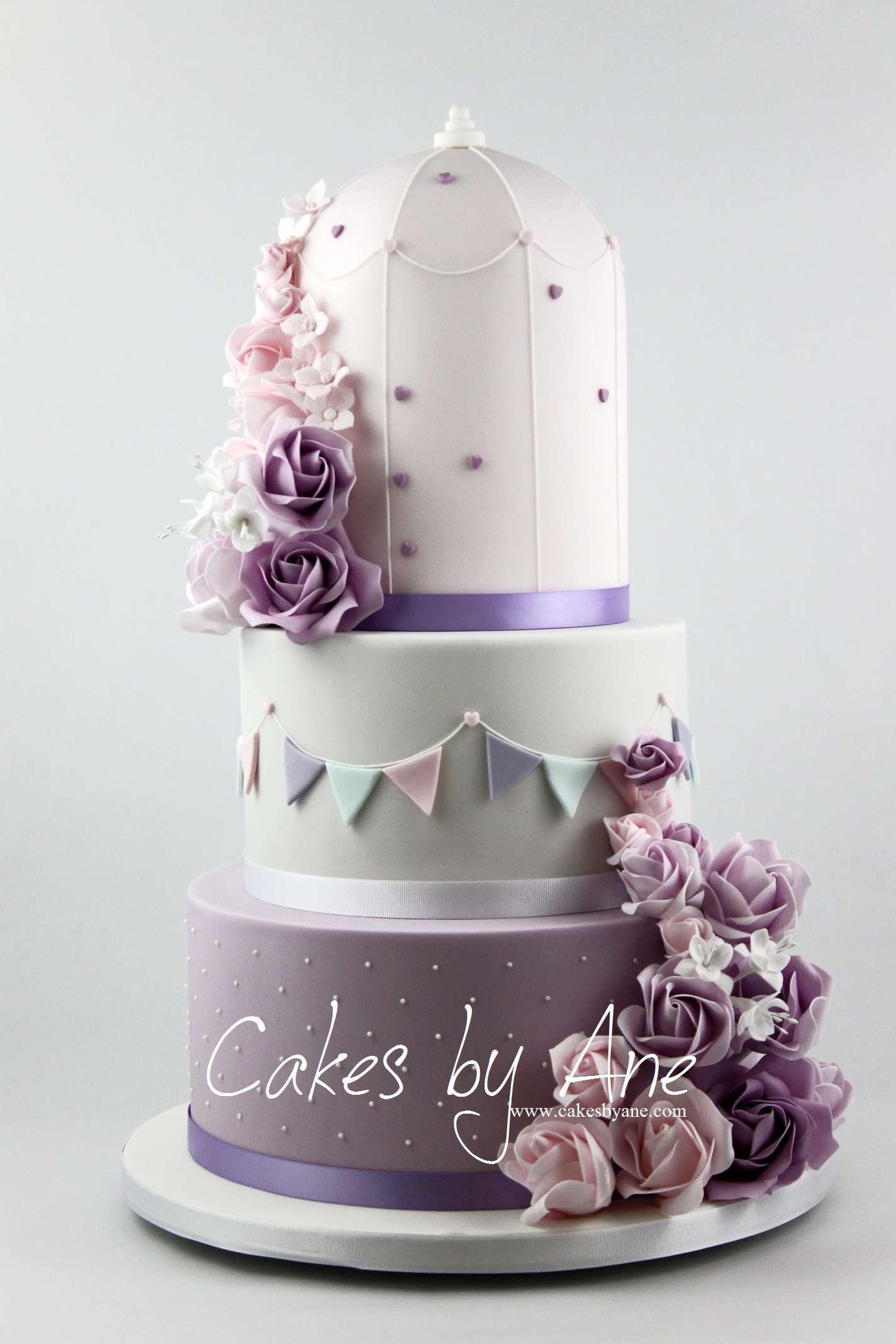 Lovely Ideas Of Purple and Teal Wedding Cakes - Best Home Design ...