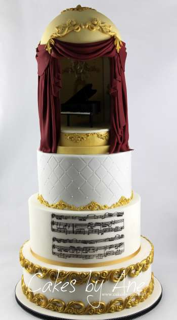 Musical Concert Cake
