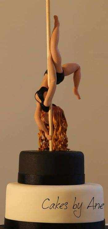 Pole Dancer Cake