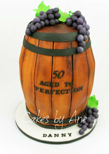 Wood Barrel Cake