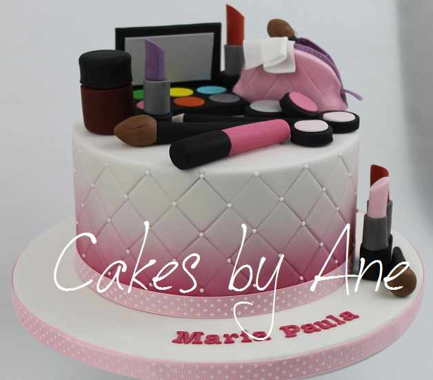 Makeup Cake Images : Cakes by Ane
